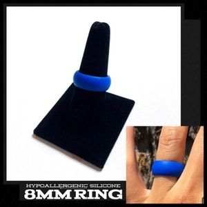 Sport Hypoallergenic Safety Athletic Silicone Ring